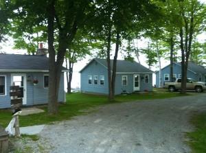 Three Cottages Back Entrance
